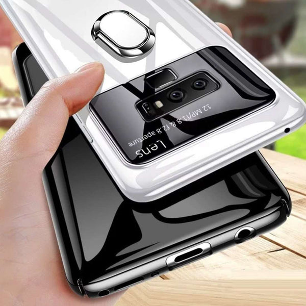 Galaxy Note 9 Luxurious Mirror Effect Lens Ring Hard Case