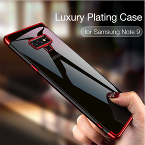 Galaxy Note 9 Baseus® Transparent Gillter Hard Protection Case