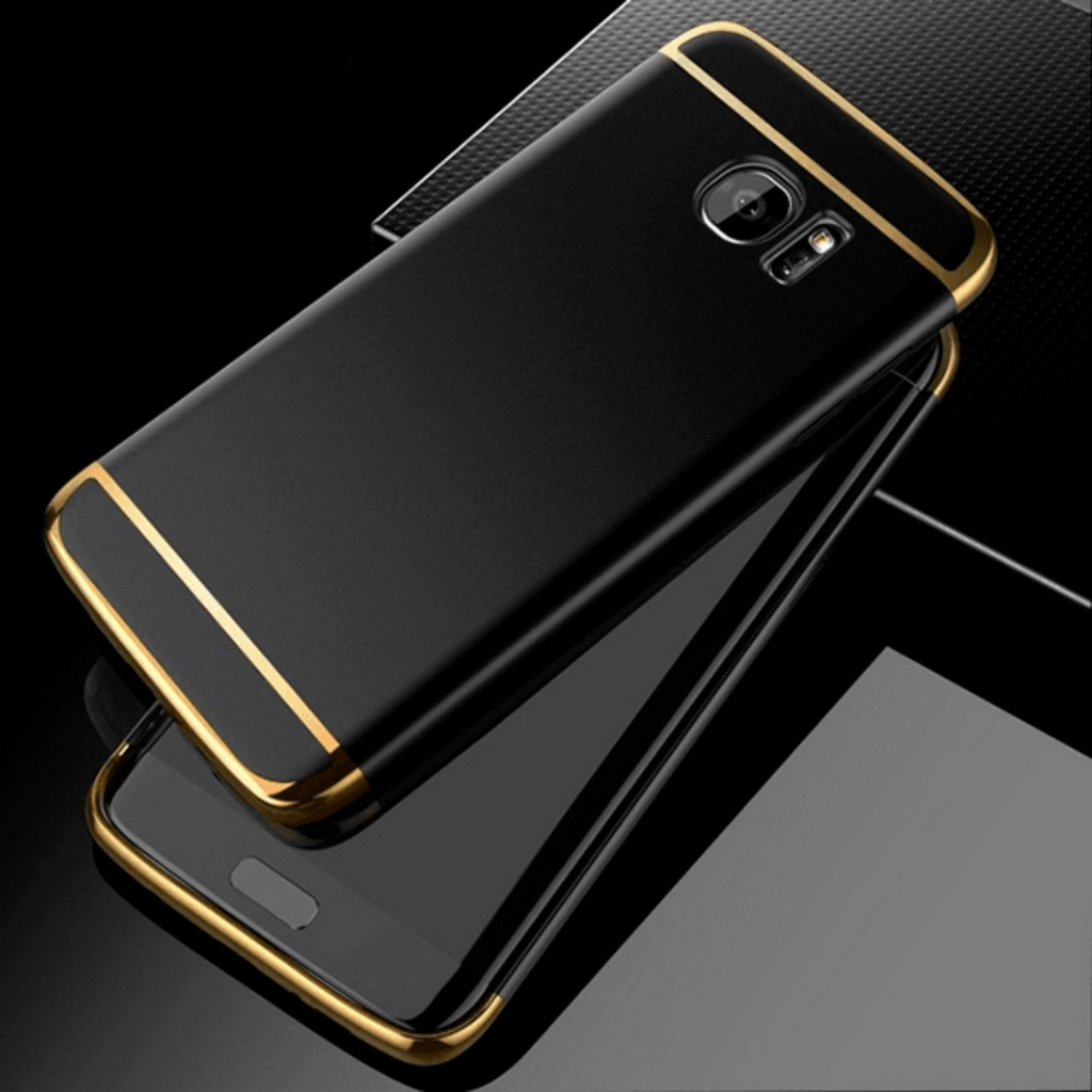 Galaxy S7 Edge Luxurious 3in1 Hard Back Case