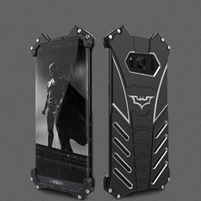 Galaxy S8 R-just Batman series Shockproof Aluminium Back Case
