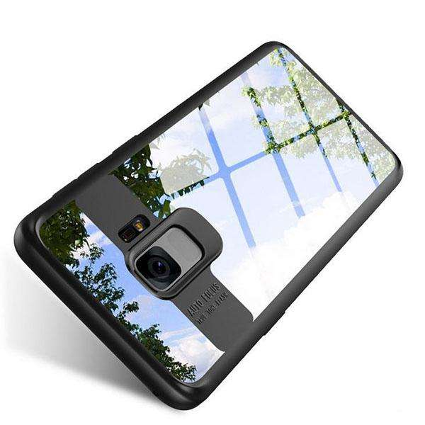 Galaxy S9 Autofocus Transparent Naked Through Case