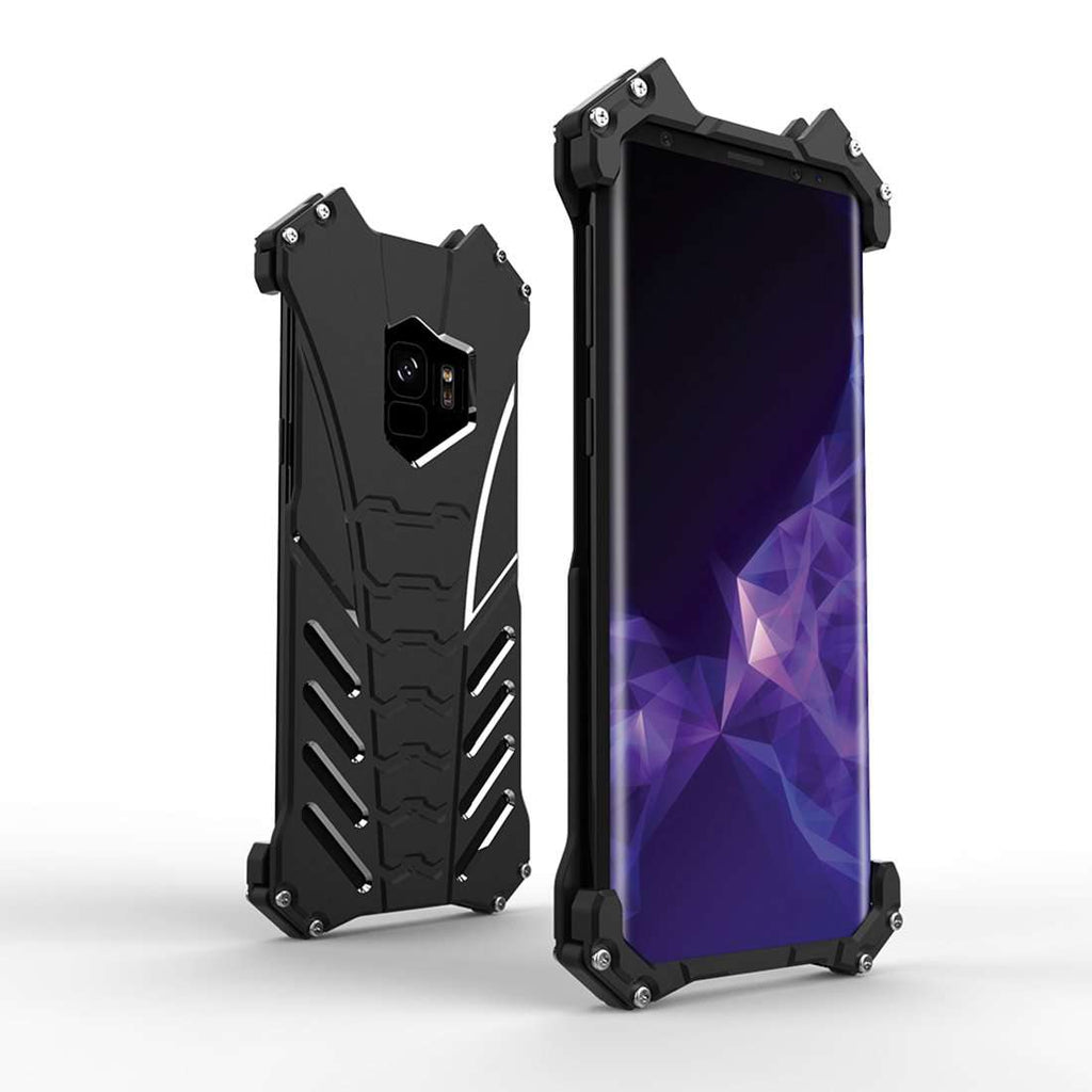 Galaxy S9 Plus R-just Batman Series Shockproof Aluminium Case