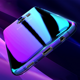 Galaxy S9 Slim Aurora Gradient Color Glaze Back Case