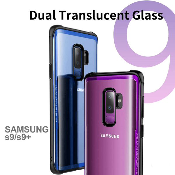 Galaxy S9 Ultra High Protection Transparent Glass Case