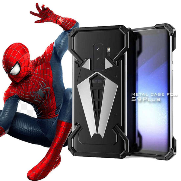Galaxy S9 Plus R-Just Spider Man Series Shockproof Aluminium Case