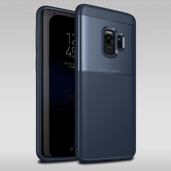 Galaxy S9 Henks® Ultra Protection Armor TPU+PC Hybrid Toraise Back Case