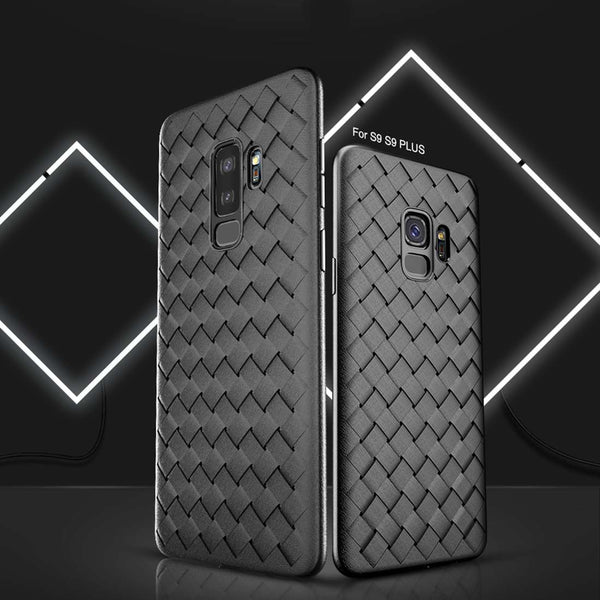 Galaxy S9 Plus Baseus® 100% Genuine Hybrid Thin Weave Protection Case
