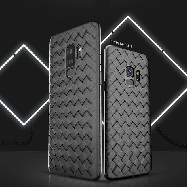 Galaxy S9 Baseus® Hybrid Thin Weave Protection Back Case