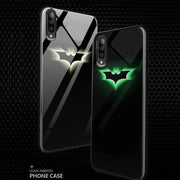 Galaxy A70 Radium Batman logo Glow Light Illuminated Case