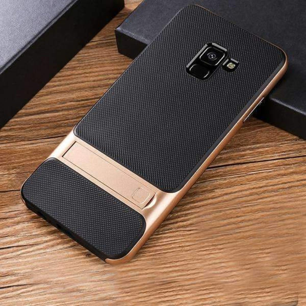 Galaxy A8 Plus Dual Hybrid With kickstand Case