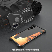 Galaxy Note 10 R-just Batman Series Shockproof Aluminium Case