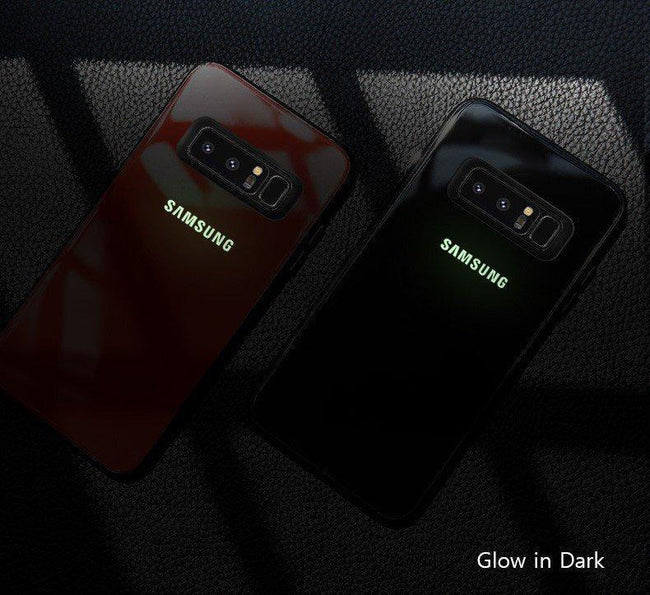 Radium logo Glow Light Illuminated Case (Glow in the Dark) For Galaxy S10 Plus