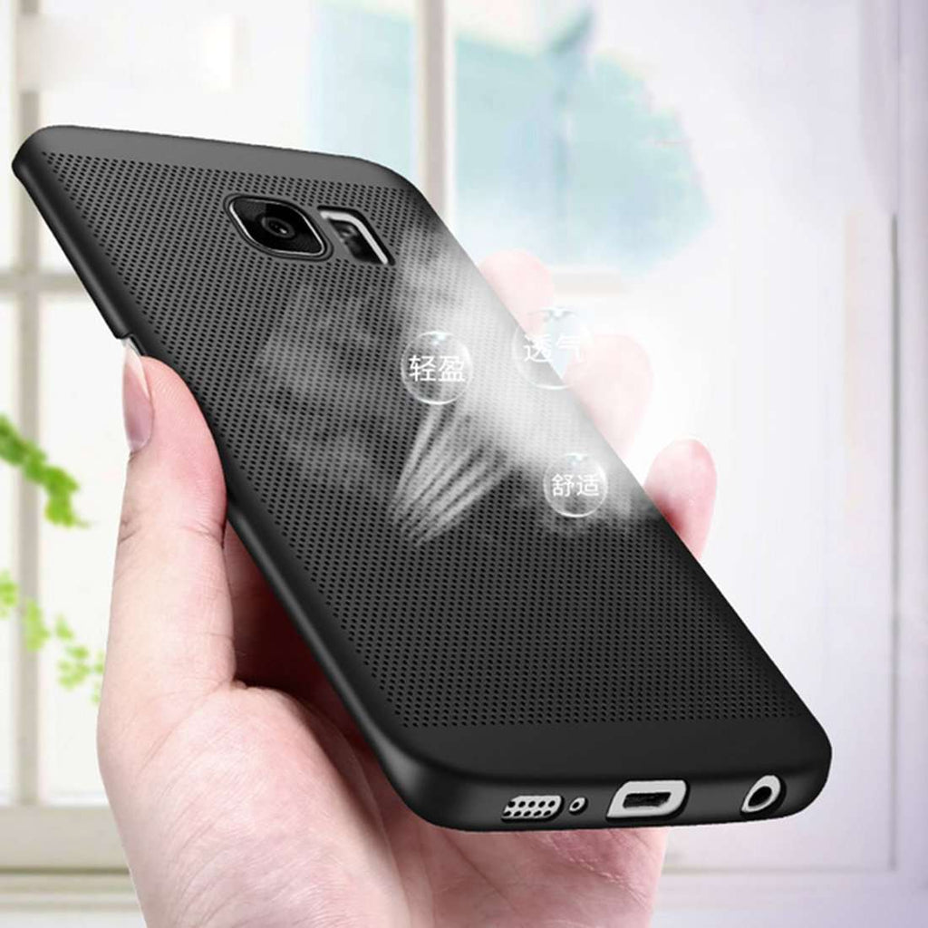 Galaxy S7 Edge 100% Original Luxury Heat Dissipation Ultra-Thin PC Case