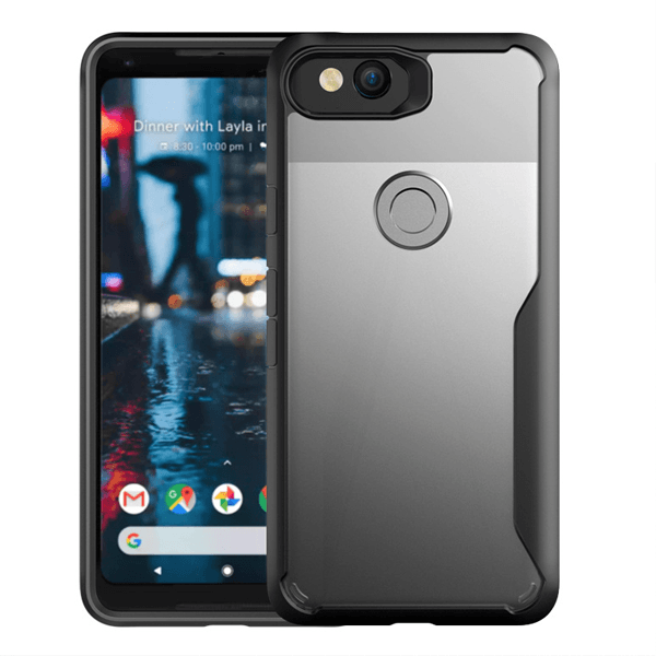 Google Pixel 2 Shockproof Transparent Eagle Back Case