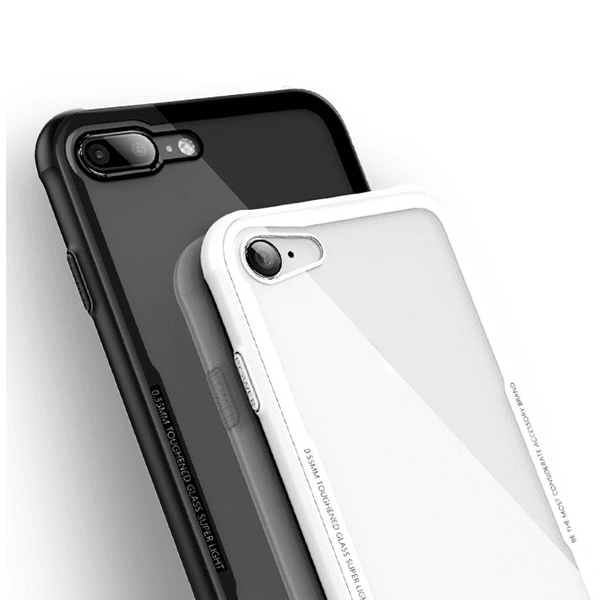 Henks® iPhone 8 Plus 100% Original Unbreakable Ultra High Protection Transparent Case