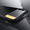 Henks Luxury Heat Dissipation Back Cover Case for iPhone X (Black)