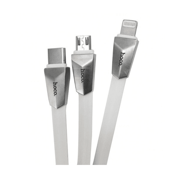 Hoco X4 Zinc Alloy Rhombic Charging Cable 2017