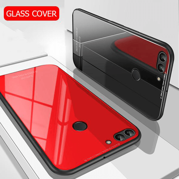 Honor 7C 100% Original Glass Luxurious Hard Back Case