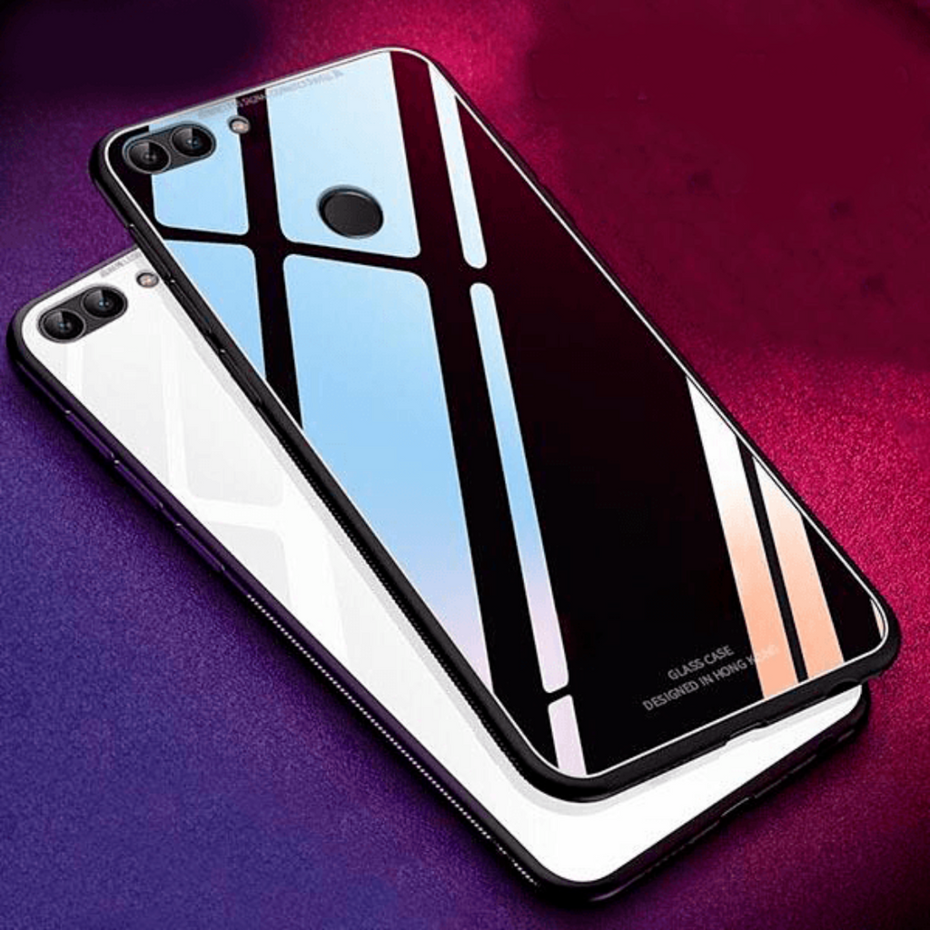 Honor 7A Luxurious Glass Hard Case