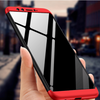 Honor 9 Lite 360° Dual Armor Full Protection Hybrid Hard Case (Black & Red)