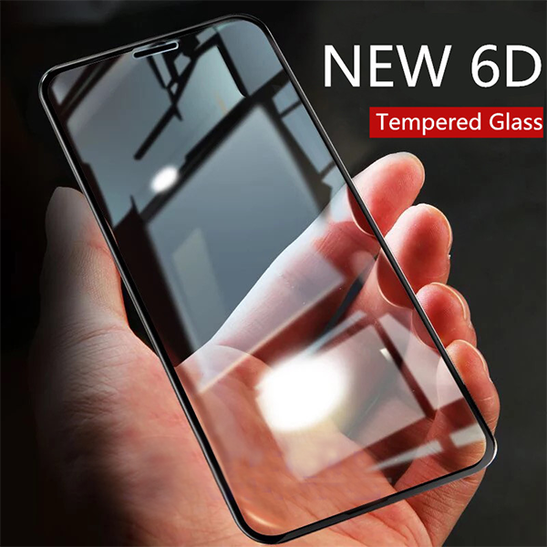 iPhone 8 Plus 100% Original 6D Full Glue Tempered Glass (Edge To Edge Protection)