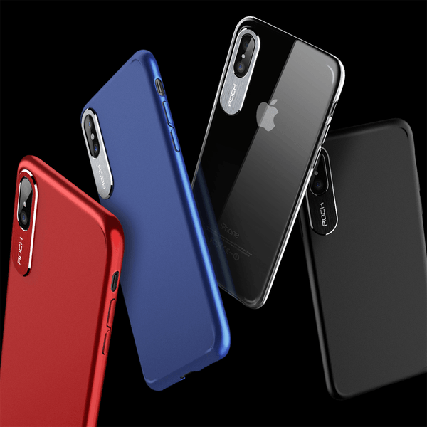 iPhone X Rock® 100% Original Classy Series Ultra Protection Hard Case