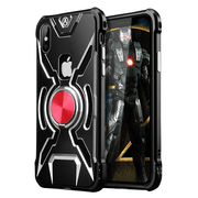 iPhone 8 Plus R-Just® Iron Man Aluminum Metal Frame Case