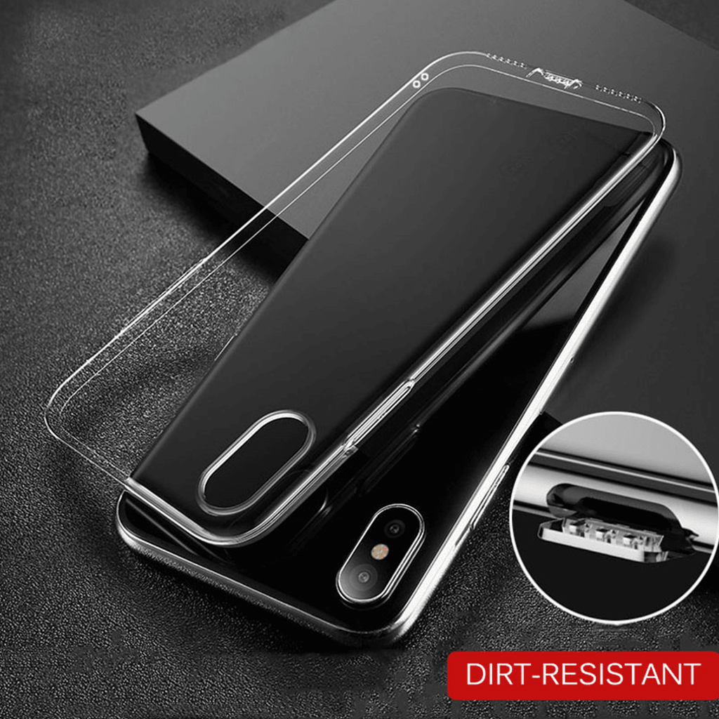 Hoco® iPhone X 100% Original  Glossy Transparent Silicon Case