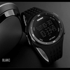 SKMEI® 1219 LED Display 100% Genuine Mens Sports Waterproof Chrome Edition Smart Watch