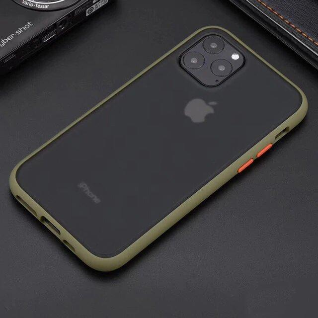 iPhone 11 Pro Shockproof Transparent Clear Protection Back Case