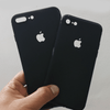 iPhone 8 Plus Ultra Slim Soft Silicon Logo Cut Case