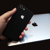 iPhone 8 Ultra Slim Soft Silicon Logo Cut Case