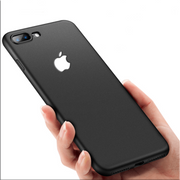 iPhone 6 Plus Soft Silicon Ultra Slim Logo Cut Back Case