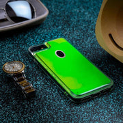 OPPO A7 Neon Sand Glow In The Dark Liquid Glitter Back Case