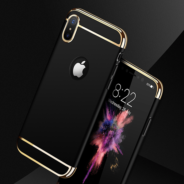 iPhone X/XS Joyroom® 100% Original Electroplated 3in1 Hard Back Case