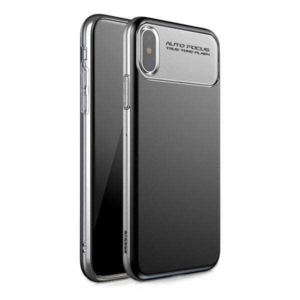 iPhone X  Baseus®100% Original TPU+PC Double Protection Autofocus Hard Case