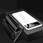 iPhone 11 Pro Smooth Thin Glossy Mirror PC Effect Lens Back Case