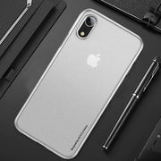 iPhone XR Henks® Light Anti Fingerprint Ultra Thin Slim GOTHIC Case
