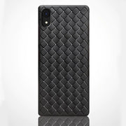 iPhone XR Ultra Protection Thin Soft Grid Weaving Case