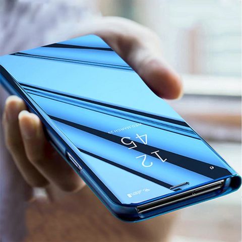 mirror-clear-view-flip-phone-case-for-iphone-XR-2019-India