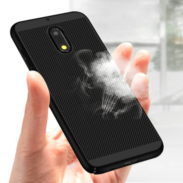 Nokia 6, 100% Original Luxury Heat Dissipation Ultra-Thin+PC Case