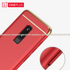 OnePlus 6, 100% Original 3in1 Ultra Protection Luxury Plating Matte Hard Cover Case