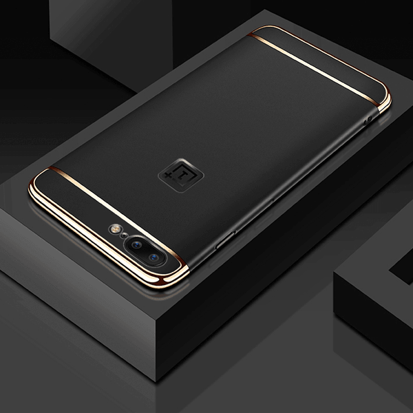 OnePlus 5 100% Original Luxurious 3in1 Electroplate Hard Back Case