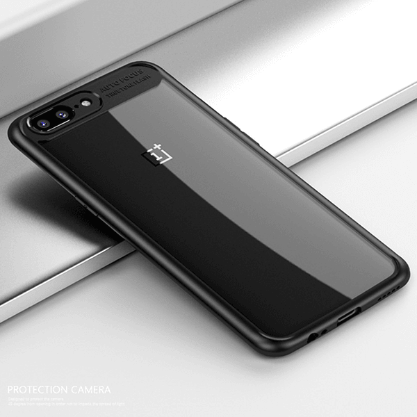 OnePlus 5 Naked Through Ultra Protection Anti-scratch Hard Back Case