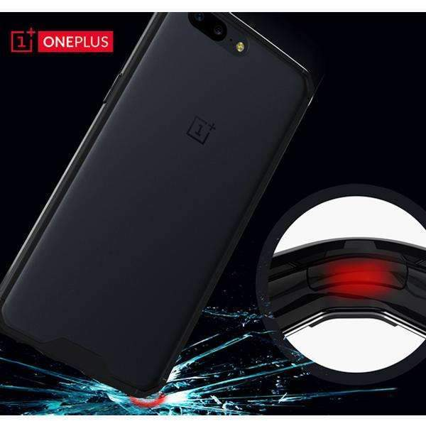 OnePlus 5 Ultra Protection Anti-Shock Armour Soft TPU And Acrylic & Anti-scratch Case (Limited Stock)
