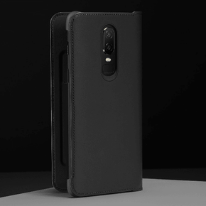 OnePlus 6 Leather PU Ultra Protective Shield Flip Case