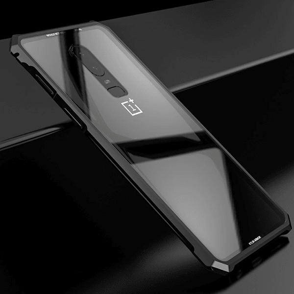 OnePlus 6 Unbreakable High Protection Transparent Glass Case