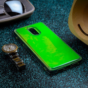 OnePlus 6T Neon Sand Glow in The Dark Liquid Glitter Back Case
