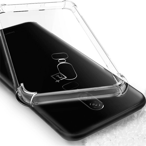 OnePlus 6 All Round Protection Transparent Back Case