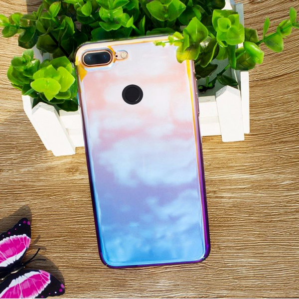 OnePlus 5T Baseus® Slim Aurora Gradient Color Glaze Back Case
